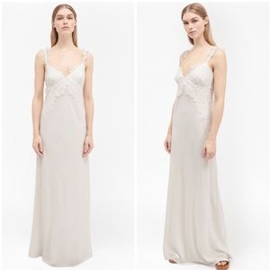 NWT FRENCH CONNECTION GEORGIANA LACE MAXI DRESS